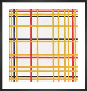 New York City, 1942 by Piet Mondrian