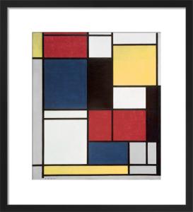 Tableau II, 1921-25 by Piet Mondrian