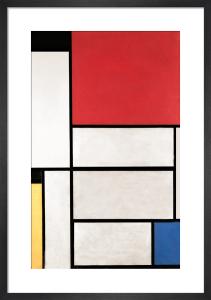 Tableau I, 1921 by Piet Mondrian