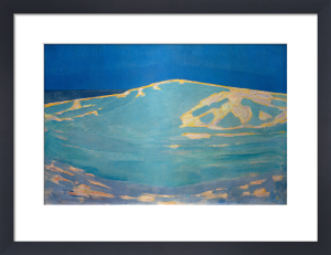 Dunes near Domburg, 1910 by Piet Mondrian