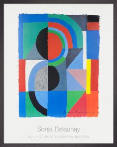 Viertel, 1968 by Sonia Delaunay