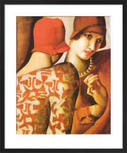 Sharing Secrets by Tamara de Lempicka