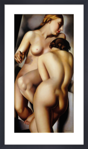 The Two Girlfriends by Tamara de Lempicka