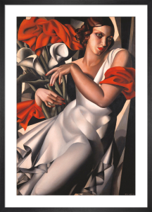 Portrait of Ira Perrot by Tamara de Lempicka