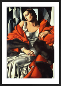Portrait of Mrs Boucard by Tamara de Lempicka