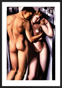 Adam and Eve by Tamara de Lempicka