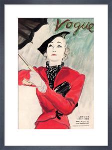 Vogue, April 4th 1934 by (Eric) Carl Erickson