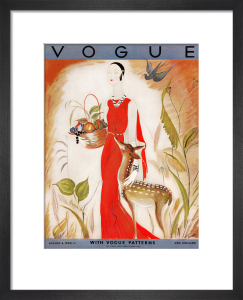 Vogue, August 6th 1930 by Eduardo Benito