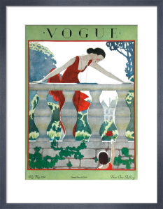 Vogue, Early May 1924 by Andre Edouard Marty