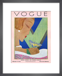 Vogue February 8th 1928 by Eduardo Benito