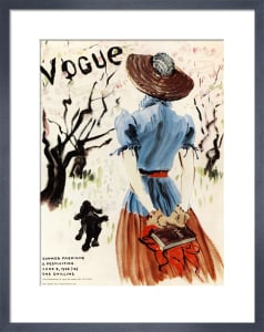 Vogue June 8th 1938 by Rene Bouet-Willaumez