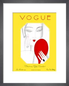 Vogue, Late November 1925 by Eduardo Benito