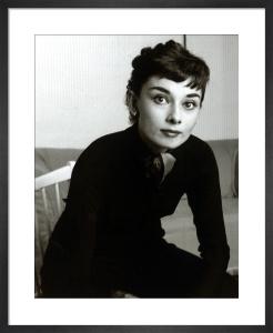 Audrey Hepburn, 1954 by Mirrorpix