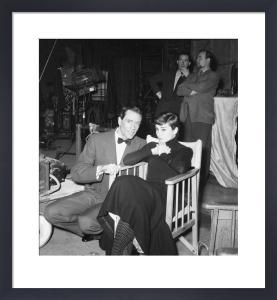Audrey Hepburn and Mel Ferrer, 1955 by Mirrorpix