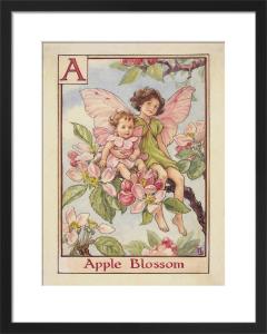 Apple Blossom Fairies by Cicely Mary Barker