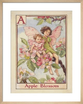 Apple Blossom Fairies by Cicely Mary Barker