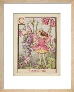 Columbine Fairy by Cicely Mary Barker