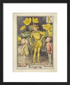 Kingcup Fairy by Cicely Mary Barker