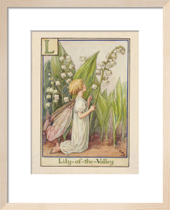 Lily-of-the-Valley Fairy by Cicely Mary Barker