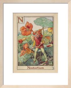 Nasturtium Fairy by Cicely Mary Barker