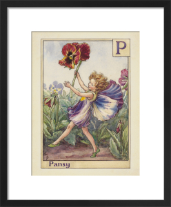 Pansy Fairy by Cicely Mary Barker