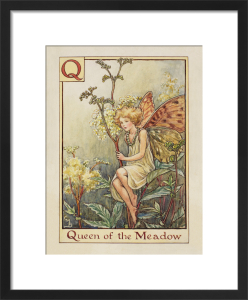 Queen of the Meadow Fairy by Cicely Mary Barker