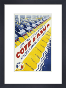 Trains to the Cote d'Azur by Anonymous