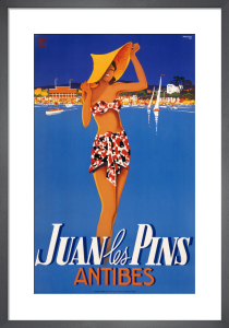 Juan les Pins, c.1938 by Robert Falcucci