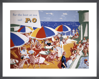 For the Best at Sea Sail P&O by Frederick Griffin