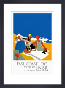 East Coast Joys No 2 - Sun-bathing by Tom Purvis