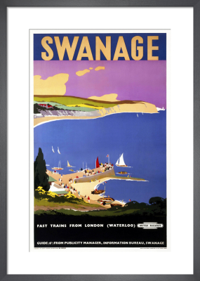 Swanage by Verney L Danvers