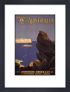 Orient Australia by Ellis Silas