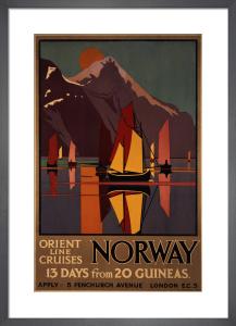 Norway by M V Jones