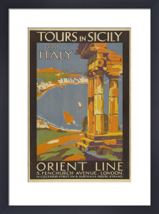 Tours In Sicily by A P Tompkin
