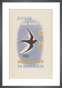 Escape From Winter by Anonymous