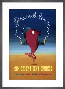Orient Line (Dolphin) by John Bainbridge