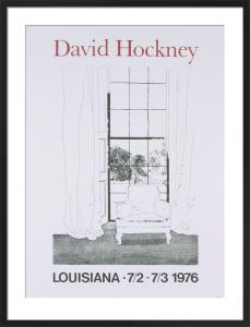 Home, 1976 by David Hockney