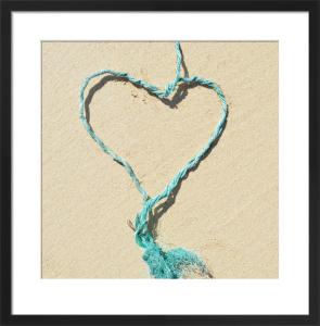 Blue Heart by Deborah Schenck