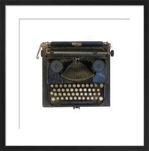 The Typewriter by Deborah Schenck