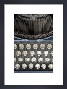 Typewriter Keys by Deborah Schenck