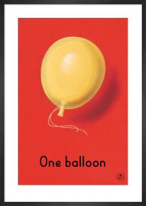 One balloon by Ladybird Books'