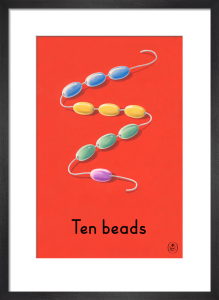 Ten beads by Ladybird Books'