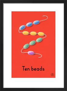 Ten beads by Ladybird Books'