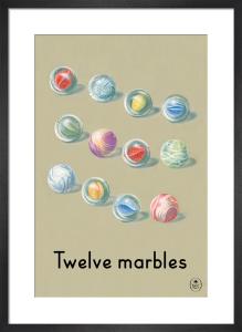 Twelve marbles by Ladybird Books'