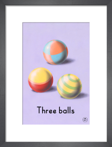 Three balls by Ladybird Books'