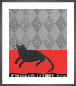 Cats And Bowls Art Print By Christopher Corr King Amp Mcgaw
