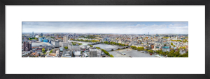 West View from South Bank Tower by Henry Reichhold