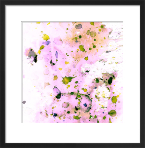 Pastel Splatter by Amy Sia
