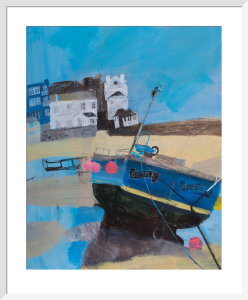 Fishing Boat Gemma by Emma Jeffryes