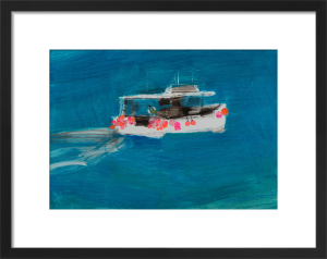 Boat with many Buoys by Emma Jeffryes